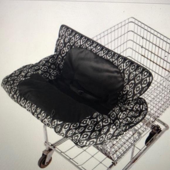 Eddie Bauer Shopping cart Cover Black//White
